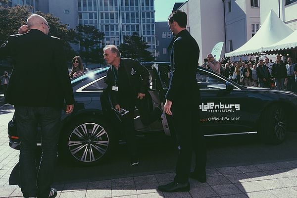 01 Oldenburgische Landesbank AG OLB Walk of Fame recipient Keith Carradine wife Hayley arrive in style at unveiling of his 2018 Star o