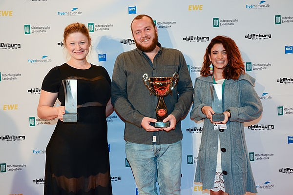 03 Oldenburg Honors New Voices Visions in Cinema Isabella Ekloefs Holiday The Movie wins Seymour Cassel Award for Outstanding Performanc